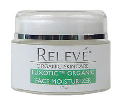 Luxotic Organic Face Moisturizer by Releve
