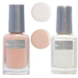 Karma Organic's nail polish is a healthier alternative.